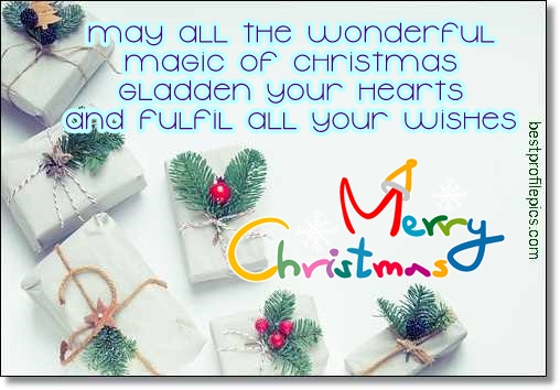 christmas wish to friends