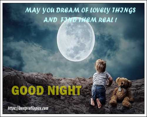 share this good night whatsapp images with friends