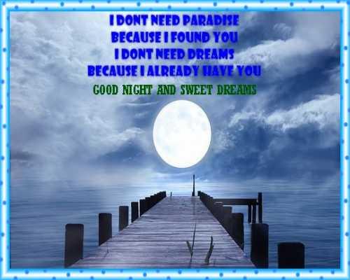 beautiful good night whatsapp images for sharing