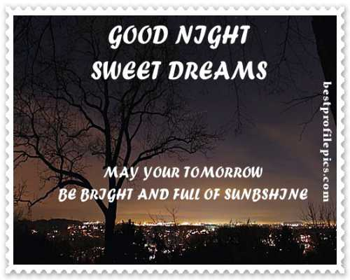 how about a good night photos new for sharing
