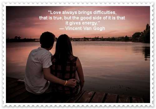 love photos with quotes