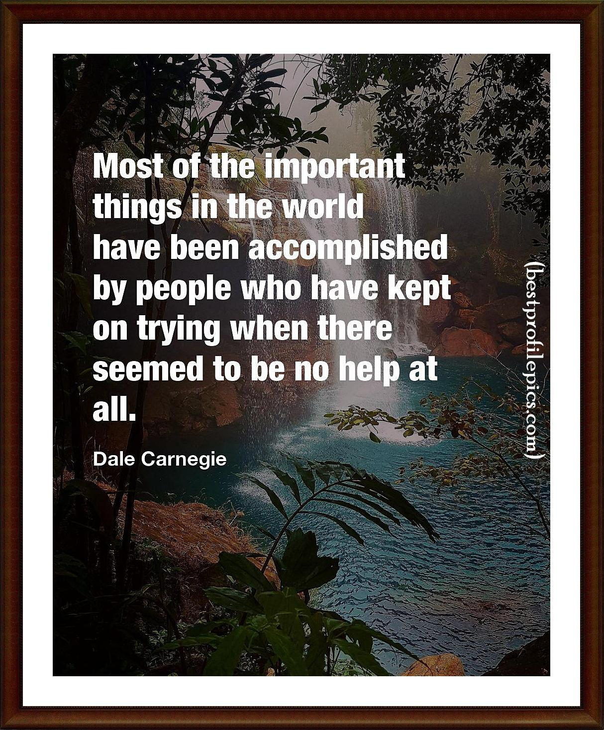 dale carnegie quotes start living