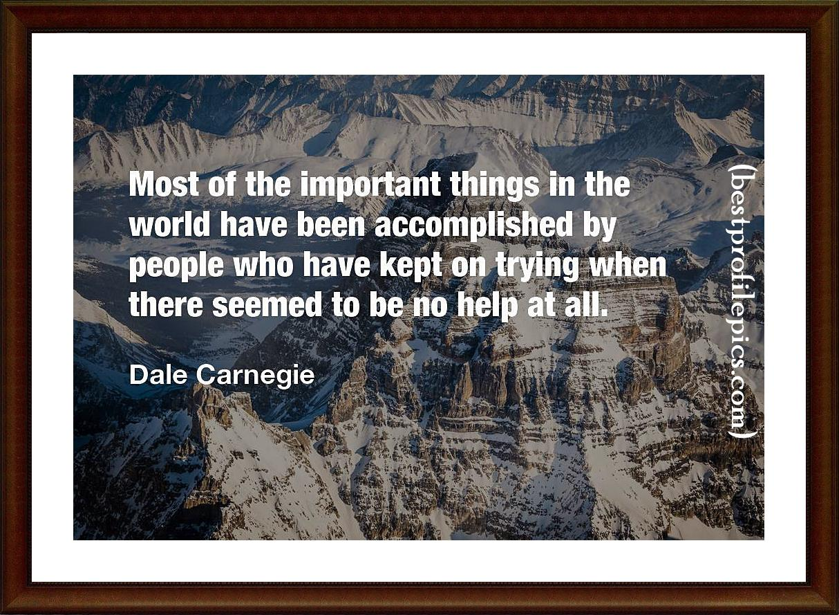 dale carnegie quotes to inspire