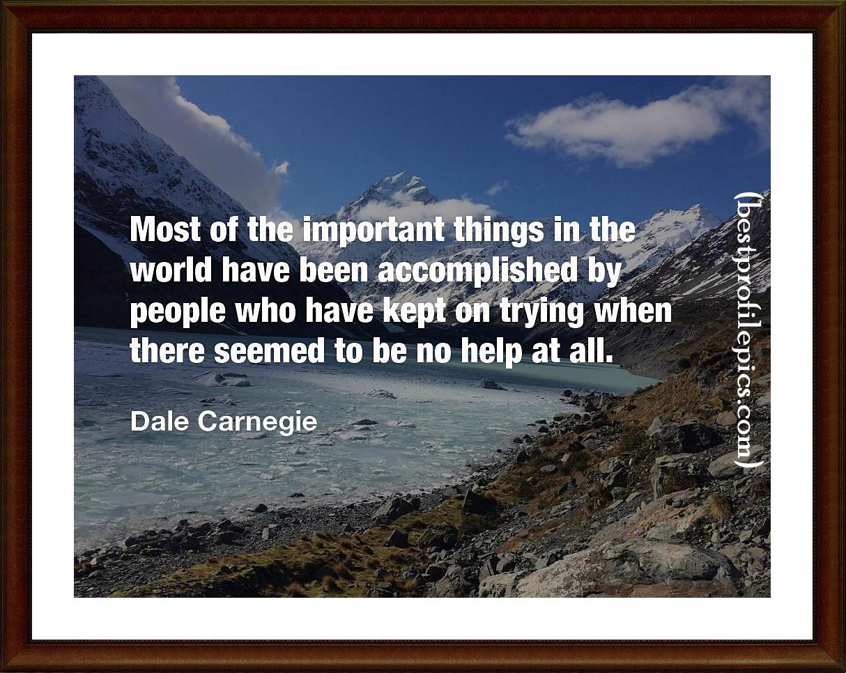 dale carnegie quotes to motivate