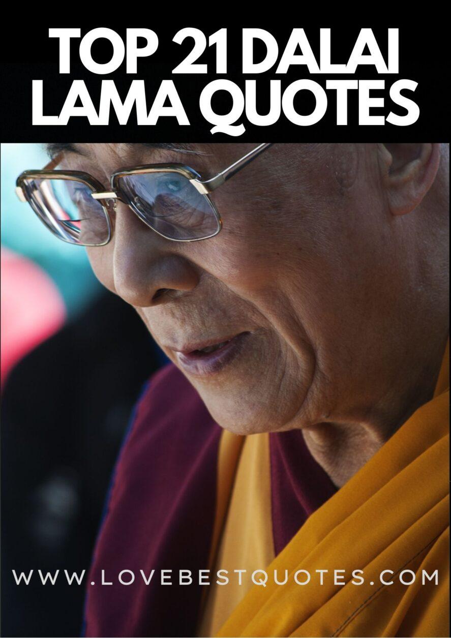 21 Best Dalai Lama Quotes and Sayings
