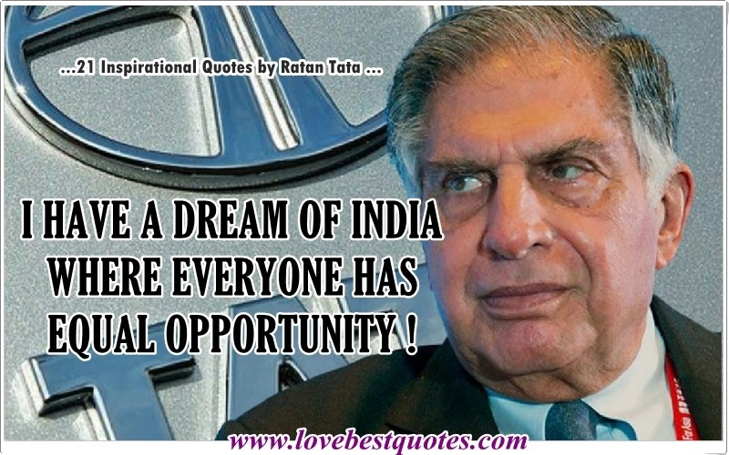best quotes ratan tata