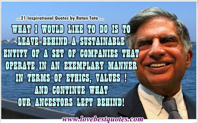 ratan tata quotes decision making