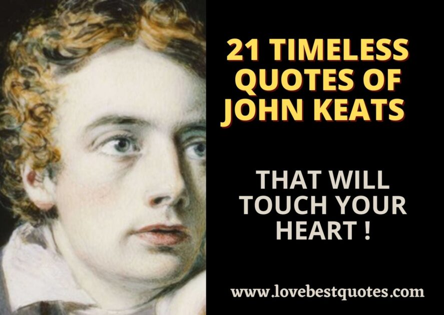 21 timeless quotes of John Keats that will touch your heart