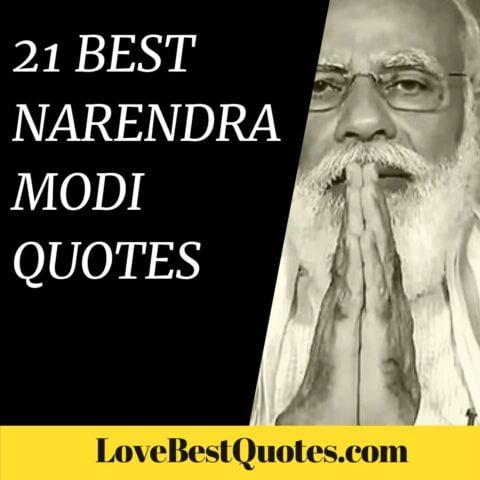 21 Best Narendra Modi Quotes